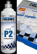 Profi Hologramm Remover FACDOS P2 500ml POLIERPASTE Emulsion Lack-Aufbereitung