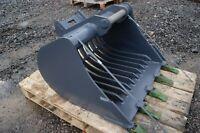 2 to 4 ton digger riddle bucket HARDOX 450 Inc VAT ESCO Super V teeth