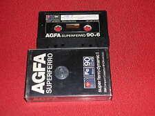 VINTAGE  1 AUDIO CASSETTA  AGFA SUPERFERRO DYNAMIC I  90 + 6  ( ANNI '70 )