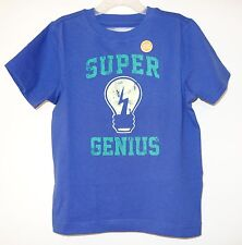 New Gymboree Monstro-Politan Super Genius Glow In Dark Shirt Boy's Size 5