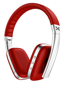 Wireless Headphones | Ghostek RAPTURE Headset Soft Leather Earcups Mic