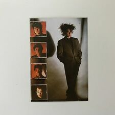 Rare Original 1984 The Cure Robert Smith 'The Top' Unused Colour Photo Sticker