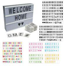 Cinematic Light Box Extra Letter Packs Cinema Style Letter Number Symbols