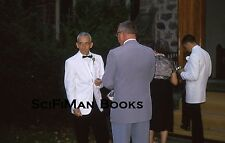 KODACHROME 35mm Slide Wedding Church Men Tuxedos Suits Woman Fashion Camera 1964
