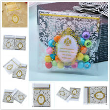 Baroque Adhesive Cookie Candy Biscuit Gift Bags Cellophane Biscuit Package Bag H