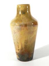 J.E. SCHNECKENDORF Großherzogliche Edelglasmanufaktur Darmstadt Jugendstil Vase