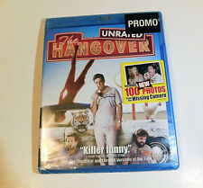 NEW THE HANGOVER BLU-RAY UNRATED MOVIE Promo Sealed