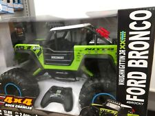 Ford Bronco 1:8 scale Green New by New Bright Rock crawler ready to run