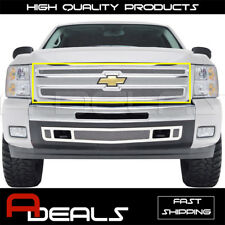 FOR CHEVY SILVERADO 1500 2007 08 09 2010 11 12 2013 STAINLESS STEEL MESH GRILLE