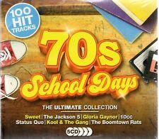 100 Hit Tracks - 70's School Days - Various Artists (CD 2017)  New