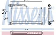 NISSENS Radiador de calefacción 70233
