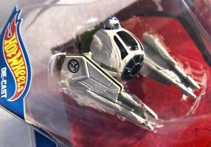Hot Wheels Star Wars Yoda's Jedi Starfighter #30 Starship Fighter Disney New NIP
