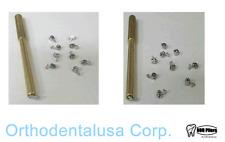 20 PCS Orthodontics Activity Crimpable Left & Right Hooks, 10pcs x pack w/tool.