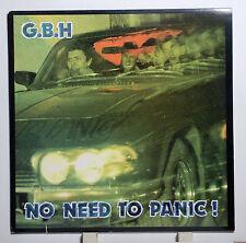 """G.b.h No Need to Panic 1987 LP 12"""" Combat Rec. ex +"""