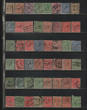 Kgv Perfin Collection of All Different Designs Part 5