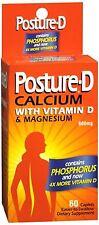 Posture-D Caplets 60 Caplets - 8 Pack