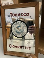 More details for vintage players navy cut tobacco and cigarettes advertising mirror