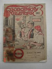 ROBOTNICKY KALENDAR 1917 - Calendar - SOLVACK ?? - Chicago, IL