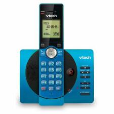 Vtech CS6929 DECT6.0 Cordless Answering System with Caller ID/Call Waiting, Blue