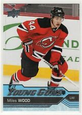 2016-17 Upper Deck Series Two Young Guns #453 Miles Wood Rookie RC