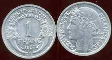 FRANCE FRANCIA  1 franc  1957 B  MORLON   SUP ++  ( bis )