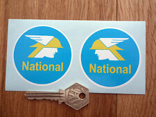 NATIONAL BENZOLE Classic 60's Car Motorcycle Stickers