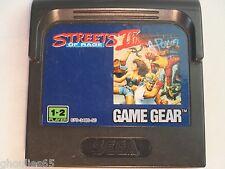 STREET OF RAGE II SEGA GAME GEAR STREET OF RAGE II GAME GEAR STREET OF RAGE 2
