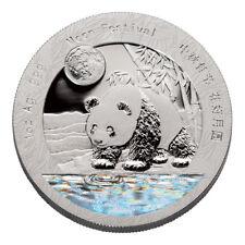 2017 Z Silver Panda 1 oz. Hologram GEM Proof Medal in its Original Mint Capsule