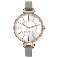 Esprit esprit-tp10858 grey Damenuhr Lederarmband grau ES108582002 statt € 89,90