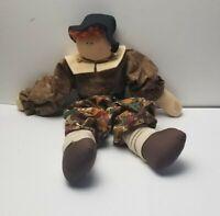 Vintage Primitive Handmade Male Ragdoll