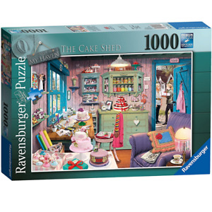 Ravensburger My Haven No 5, The Cake Shed Jigsaw Puzzle (1000pcs)