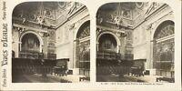 Italia Roma Cattedrale Saint-Pierre Interno, Foto Stereo Analogica PL62L11