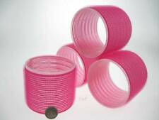 4 Grande Rosa XXL Riccio Aderisce Bigodini 72mm Adds Top Strato Volume