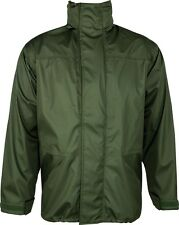 "HIGHLANDER WJ009 TEMPEST WATERPROOF BREATHABLE JACKET GREEN 36-38"" SMALL"