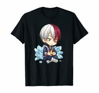 My Todoroki Cute Academia Hero T-Shirt Black S-5XL