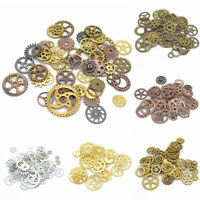 100g Punk Gear Charms Pendants Mixed Color For Jewelry DIY Making Accessories