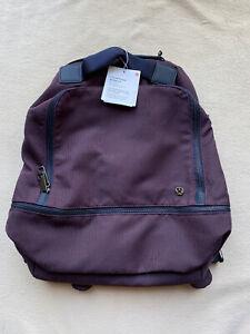Lululemon City Adventurer Backpack Stacked Jacquard Black Cherry Nocturnal Teal