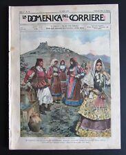 1899 VIAGGIO REALI SARDEGNA CAGLIARI costumi Fonni Desulo Artizo Osilo Quarto