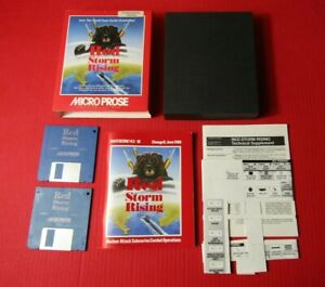 Red Storm Rising Micro Prose Commodore Amiga Game Boxed Complete