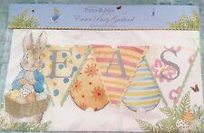 Peter Rabbit Beatrice Potter Garland 13 pennants ten ft Adorable Beatrix Easter