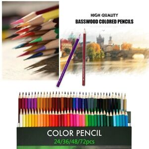 Watercolor Pencils Drawing Pen Art Set Kids Sketching Water Color Pencils Kit