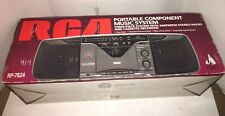 VINTAGE RCA AM FM STEREO RADIO CASSETTE RECORDER BOOM Rp-7824 New In Box