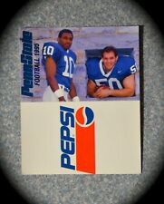 VINTAGE 1995 & 1996 PEPSI PENN STATE FOOTBALL POCKET SCHEDULE- PSU NITTANY LIONS