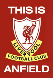 This Is Anfield Liverpool FC Football Fans Wall Art Poster A3
