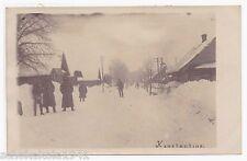 AK Landser auf der Hauptstrasse von Konstantino 1917