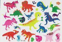 Dino Dinosaurier Kinder Einmal Tattoos Temporary Temporäre Tattoo Body Sticker
