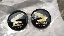 Honda C71 C72 CA72 CB72 CB250 CD250 CL72 CS72 L/R Fuel Tank Badges Emblem NEW