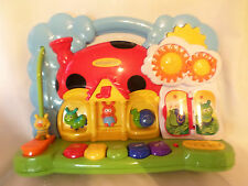 "Infantino Musical Toddler Plastic Developmental 10""x14"" Learning Color"