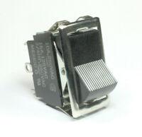 1pc Carling Rocker Switch DPDT 10A @ 250Vac, 15A @ 125VAC, 3/4 HP 250VAC, ON/ON