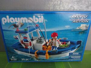 Playmobil City Action 5131 Fischkutter - Neu & OVP